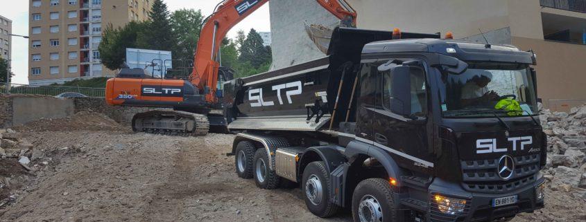 SLTP - L'Arbresle - Demolition et terrassment
